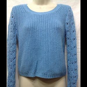 Women's size XS LAUREN CONRAD cropped sweater